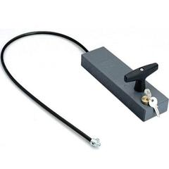 001CMS CMS - Ручка для разблокировки привода с ключом и тросом 7 м для внешней установки