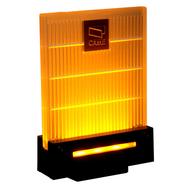 CAME DD-1KA Сигнальная лампа универсальная 230/24 В,светодиодное освещение янтарного цвета.