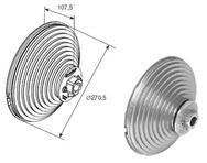 Барабан для вертикального подъема OMI18VL (пара) 11010