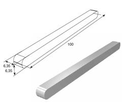 Шпонка (6,35х 6,35х100 мм) 25048