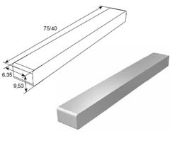 Шпонка (6,35х 9,53х 40 мм) 25064-02