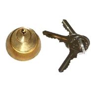 Цилиндр 712651001 внутренний для электромеханического замка 712650, с ключом №1