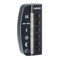 790024 Панель FAAC кнопочная LK EVO для управления режимами работы дверей А1000/A1400