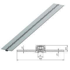 80039U/M Петля калиточная алюминиевая усиленная L=2500mm 80039U/M