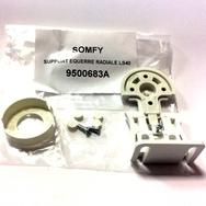 Крепление пластиковое 9500683 LS40 белое со стороны привода