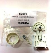 Крепление 9500685 для LS40 белое для гильзы D=8mm пластиковое, ответное