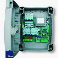 Блок управления  A700F NICE 220В с дополнительными функциями (двустворчатые распашные ворота)