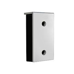 BRSP(16)465х250х165 Бампер резиновый 450х250х100 со стальной рабочей накладкой 16мм