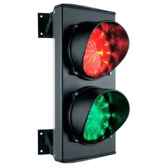 Светофор светодиодный C0000710.2 2-секционный красный-зелёный 230В