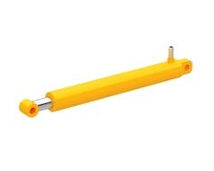 Цилиндр гидравлический CLSKS40-30-500 D внеш. 50мм., D внутр. 40мм., D штока 30мм., L хода 500мм