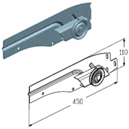 CP-3503LL пластина соединительная левая
