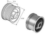 Барабан для стандартного подъема М102 H3250 (пара) DH11011