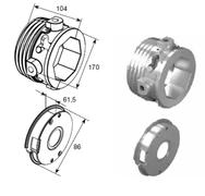 Окончания пружин для октагонального вала RV102 DH12005OKTL