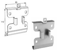 Кронштейн соединительный для двойных направляющих c крепежным адаптером DH24610