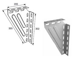 Кронштейн угловой универсальный для крепления к потолку DH24622