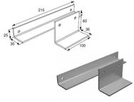 Комплект для установки доводчика рычажного Doormax для калитки DH25156KIT
