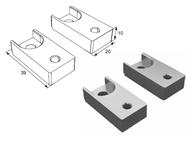 Комплект для установки доводчика Doormax для калитки панорамных ворот DH25160KIT