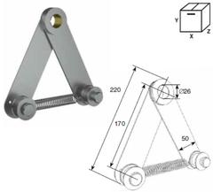 Устройство DH25238 натяжения цепи для системы двойного вала