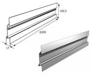 "Профиль алюм. ""Карниз малый"" металлик DHSW-20110/M L=6200mm"