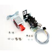 Электромеханический замок со встраиваемым в лицевой профиль крышки расцепителем привода A100