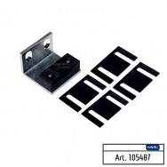 Блок направляющий напольный с кронштейном крепления к вертикальной поверхности 2 штуки FAAC 105487