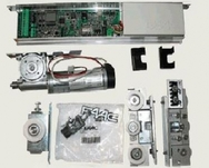FAAC A100 комплект привода для раздвижных дверей с двумя створками шириной до 1,5 м, весом до 70 кг каждая
