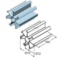 IP-152-3000 профиль проставочный