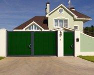 Комплект стандартный №2 калитки 1220 х 2200 зеленый RAL6005