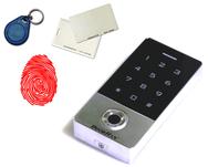 Кодовая клавиатура KEYFREM со встроенным считывателем отпечатков пальцев и карт (EMarine)
