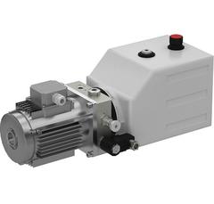 SKS-(D07-1)-1 Насос гидравлический SKS-D07 для пл. с пов. аппарелью с одним подъёмным цил. 380В/3ф/50Гц/1,1 кВт/