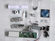 Базовый комплект привода A100 с блоком питания и управления, роликовыми опорами, комплектом крепежа и принадлежностями