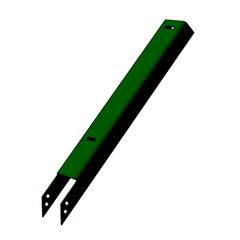 DHFS-1-8-0-3/RAL6005 Наконечник для столба 60х60 мм