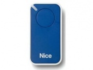 NICE INTI1B пульт ДУ 1канал, динамический код, голубой