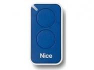 NICE INTI2B пульт ДУ 2 канала, динамический код, голубой