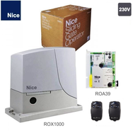 NICE ROX1000 комплект привод для ворот до 1000кг.
