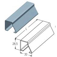 PRG-11 Профиль концевой (нижний) 5700mm