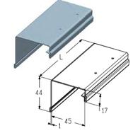 PRG-15 Профиль концевой (верхний)