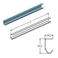 PRG-31-6040 профиль направляющий вертикальный L=6040mm