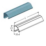 PRG-36-5700 Профиль концевой (нижний) 5700mm