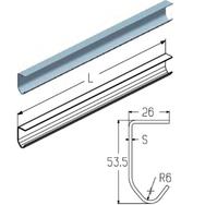 PRG03 профиль направляющий L=6000mm/2m