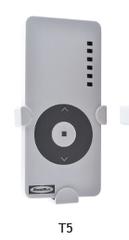 T_5 Пульт DoorHan управления 5 каналов с рамкой крепежной