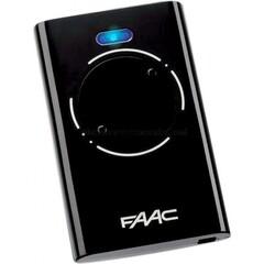 FAAC XT2 868 SLH LR пульт 2-х канальный черный