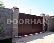 Комплект стандартный №1 распашных ворот 4440 х 2200 коричневый RAL8014