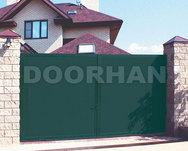 Комплект стандартный №2 распашных ворот 4440 х 2200 зеленый RAL6005