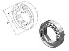 Кольцо ригельное RD60 (на вал 60мм)