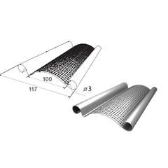 Профиль стальной RHS117P перфорированный