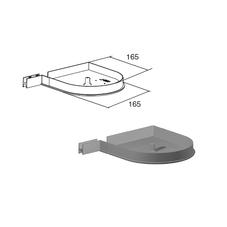 Крышка боковая RK165D (пара)