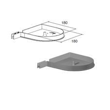 Крышка боковая RK180D (пара)