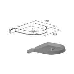 Крышка боковая RK205D (пара)