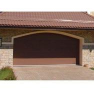 Ворота секционные серии RSD01SC №1 ширина 2500 высота 2115 коричневые